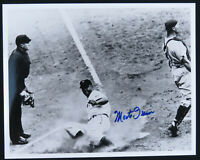 Monte Irvin New York Giants Baseball Autographed Signed 8x10 B&W Photo