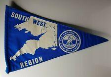 """British camping club South west region pennant 12"""""""