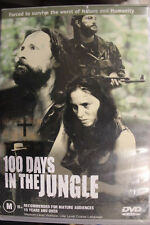 100 DAYS IN THE JUNGLE OOP RARE DELETED PAL REGION 4 DVD  WILLIAM B DAVIS