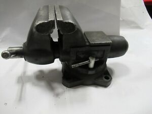 """Wilton Bullet Vise 1765, 6-1/2"""" Jaws with Swivel Base USA Made"""