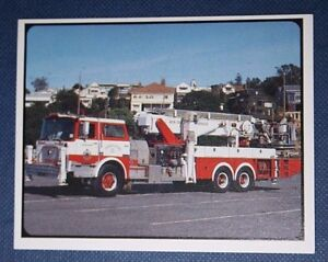 FIRE ENGINE   MACK AERIALSCOPE    Photocard