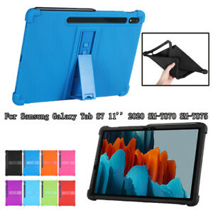 Kids Safe Silicone Stand Case Cover For Samsung Galaxy Tab S7 11 2020 T870 T875
