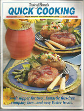 Taste of Home's Quick Cooking March April 2004 Easter Treats/Peachy Turkey Meatb