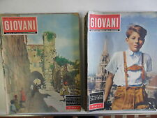 649DR BLOCCO 23 riviste GIOVANI 1956