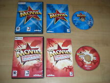 THE MOVIES + STUNTS & EFFECTS Add-On Expansion Pack Pc Cd Rom sim  Fast Delivery