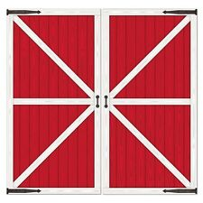 RED BARN DOOR PROPS*Wall Decorations*FARM ANIMAL*Barn Yard B-Day Party