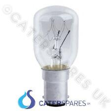 FORNO A MICROONDE Lampadina Lampada 25W A BAIONETTA SMALL CAP 230 / 240V Push Fit B15 parti