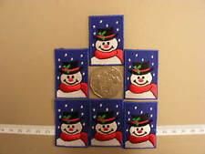 Christmas Snowman Motifs   - Packet 12 (Blue)