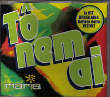 Maria-To Nem Ai cd maxi single 8 tracks Eurodance Italy