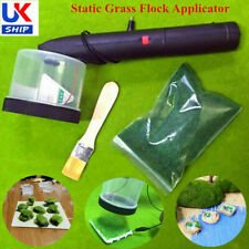 Handheld Static Grass Flock Applicator Machine Advanced Diorama Model Scenery UK