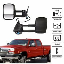 Power Heated Towing Mirrors For 03-06 Chevy Silverado GMC Sierra Pickup Truck