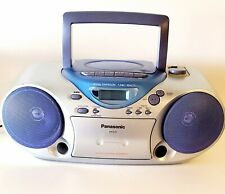 Vintage Panasonic Rx-D13 Boombox Cd Cassette Radio Stereo (Tested)