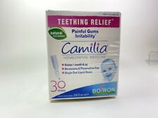 Boiron Baby Care Camilia Teething Relief 30 doses EXP 12/2022