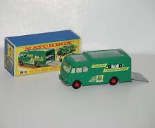 coche de colección    Matchbox K-5 Racing car transporter