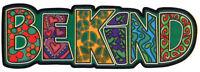 Be Kind - Window Sticker / Decal