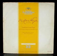 Reger  Variations & fugue sur un thème de Hiller op 100 Berlin Paul van Kempen