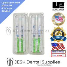 Mint Teeth Whitening Gel Opalescence PF 20% 4 Syringes EXP 07/2020