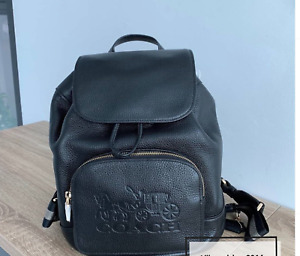 NWT Coach Jes Backpack With Horse And Carriage
