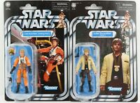 Star Wars The Vintage Collection Luke Skywalker Yavin & X-Wing Pilot VC151 & 158