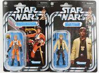 Star Wars The Vintage Collection Luke Skywalker Yavin & X-Wing Pilot VC151 & 158