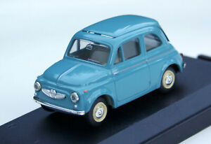 Steyr-Puch 650T (Fiat 500) - Model Year 1962-1969, M.1 : 43, Light Blue, Boxed