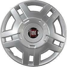 "Genuine Fiat Ducato Van Motor Home 15"" Inch Wheel Trim Red Badge 2006-Onwards x1"