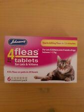Johnson's 4fleas 11.4 tablets for cats & kittens kills fleas