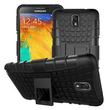 For Samsung Galaxy Note 3 - N9000 Armor Defender kickstand Hybrid cover case