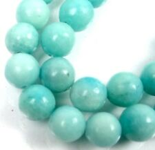 """8mm natural Amazonite Round Beads 15"""""""