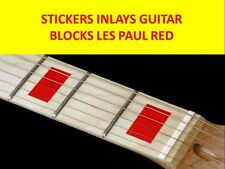 STICKERS INLAY BLOCKS RED FRET MARKERS VISIT OUR STORE WITH MANY MORE MODELS