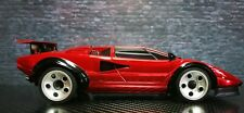 Lamborghini Countach Lp500s Chrome Red MINI-Z Body für RWD MR03 (W-MM)