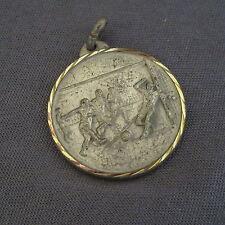 866B Médaille Laiton Sport Football A.J. Siccieu 04/1989