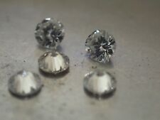 5 Diamants Naturels Ronds - 2.00mm - VVS2/E - SUPERBES !!!