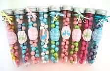 PARTY FAVOURS - EASTER CANDY TEST TUBES, LOLLY STICK FAVOURS