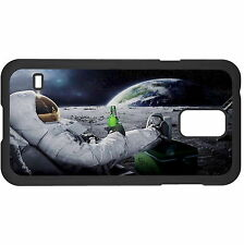 Astronaut Having A Beer On The Moon Hard Case Cover For Samsung New