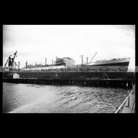 #php.02451 Photo MV EMPIRE STAR BLUE STAR LINE 1935 REFRIGERATED CARGO SHIP