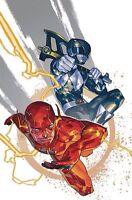Justice League Power Rangers #1 Flash Black Ranger Variant DC Comics