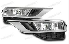 UK Version Front Bumper Fog Lamps+Covers Kits For Honda CRV 2015-2016