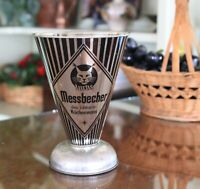 Luchs Messbecher 1950s Vintage Metal German Cake Measuring Cup
