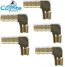 5 Pack Brass Elbow 90 Fittings 5/16