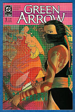 GREEN ARROW # 9  - DC 1988  (vf)  Shado - Long Bow hunters Sequel Pt 1