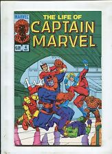 Life Of Captain Marvel #4 ~ Thanos Cover ~ (Grade 8.0) WH
