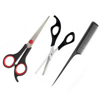 Magik Professional Hair Cutting Scissors Shear Thinning Set Kit + Free Gift Comb