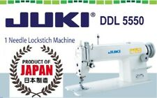 Juki DDL-5550 Industrial Straigh tStitch Sewing Machine Made in Japan-Head only