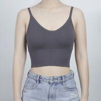Crop Top Vest Comfort Stretch Bralette Women Sexy Seamless Bra Sports Yoga Tank