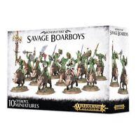 Savage Boarboys Bonesplitterz Warhammer Age of Sigmar NIB Flipside