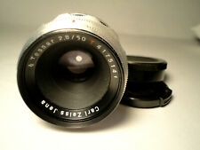 M42 Carl Zeiss Jena Tessar 2,8/50 1Q RED T 12 Blades -TOP CONDITION VINTAGE LENS