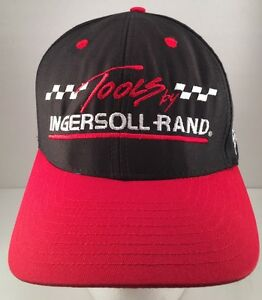 Ingersoll Rand Tools Racing Embroidered Ray Evernham Strapback Hat Cap