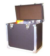"Steepletone SRB-2 LP Vinyl Retro Record Storage Case Holds 50 12""LPs - BLACK"