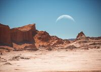 A4| Awesome Antacama Desert Poster Print Size A4 Nature Poster Gift #16662